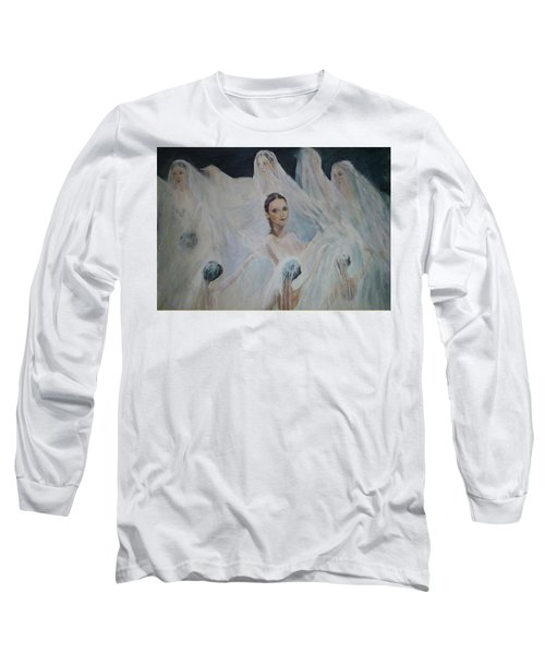 Roundelay. Ballet Dancers Long Sleeve T-Shirt