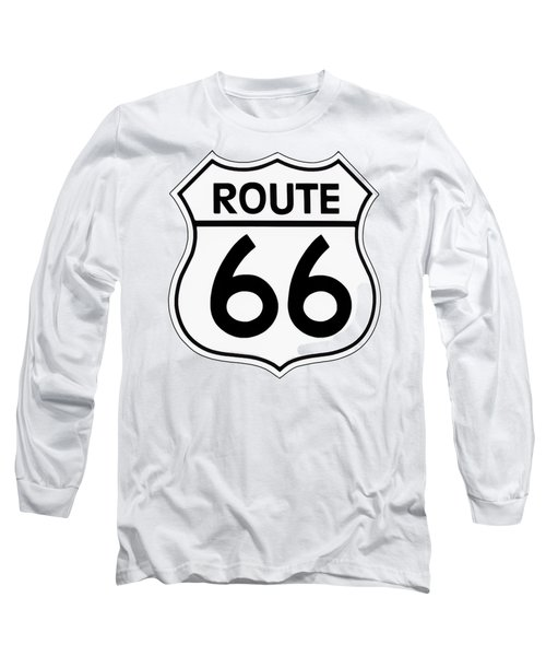 Route 66 Sign Long Sleeve T-Shirt