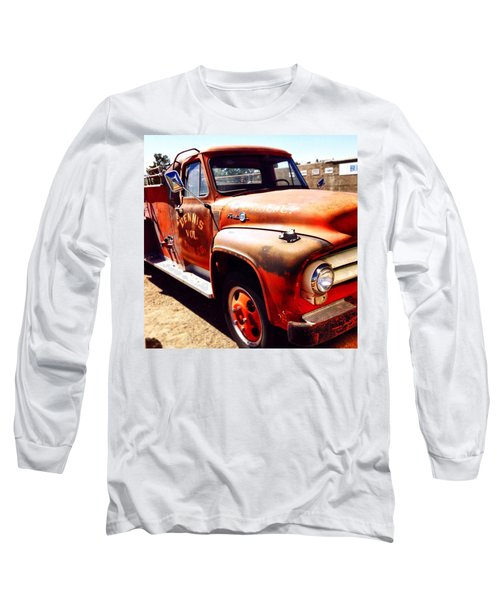 Route 66 Long Sleeve T-Shirt by Mark David Gerson