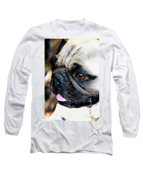 Roxy The Pug Long Sleeve T-Shirt