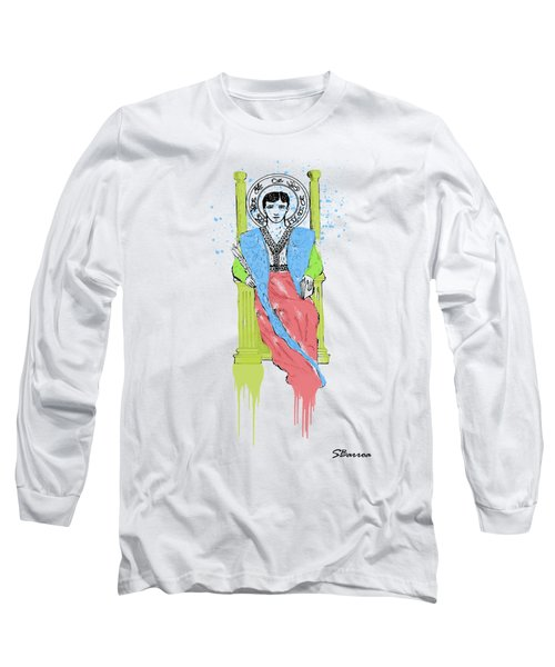 Royalty Watercolor 1 Long Sleeve T-Shirt