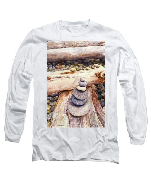 Ruby Beach Long Sleeve T-Shirt by Anne Gifford