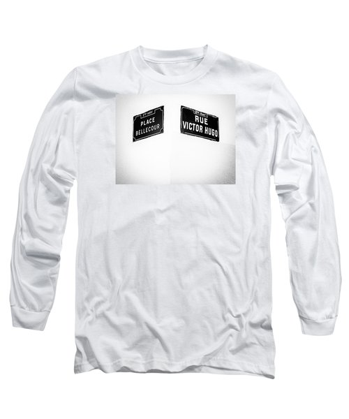 The Corner Of Place Bellecour And Rue Victor Hugo Long Sleeve T-Shirt