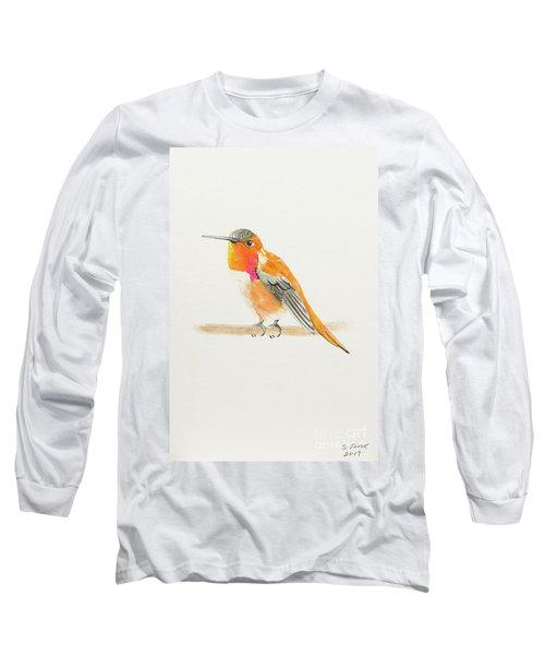 Rufous Hummingbird Long Sleeve T-Shirt
