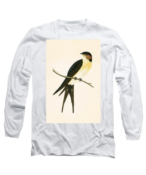 Rufous Swallow Long Sleeve T-Shirt by English School