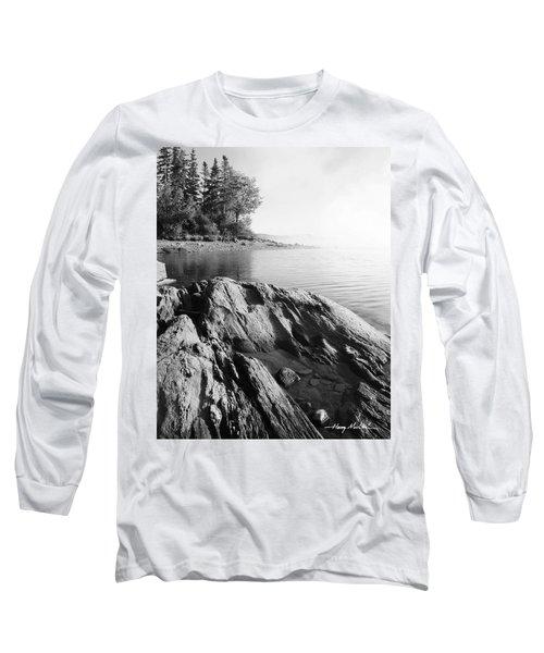 Rugged Lake Shore Long Sleeve T-Shirt