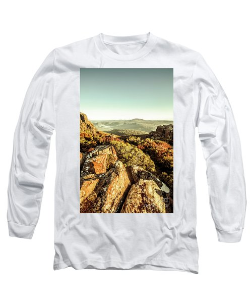 Rugged Mountaintops To Regional Valleys Long Sleeve T-Shirt