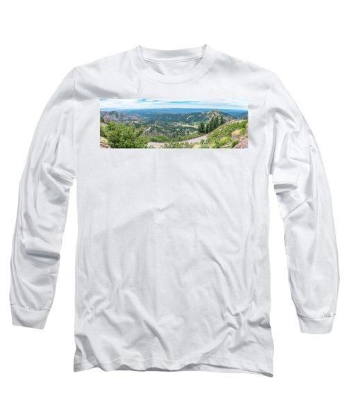 Ruidoso, Nm Panoramic Long Sleeve T-Shirt