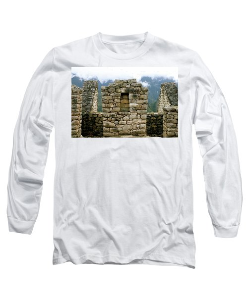 Ruins In A Lost City Long Sleeve T-Shirt