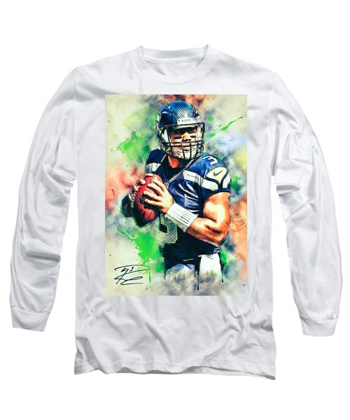 Russell Wilson Long Sleeve T-Shirt