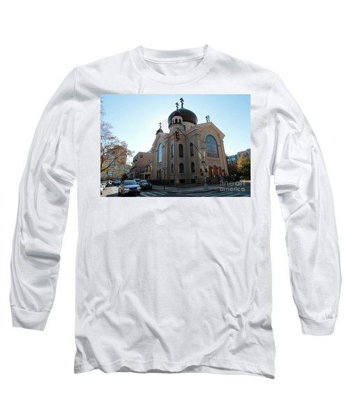 Russian Orthodox Cathedral Of The Transfiguration Of Our Lord Long Sleeve T-Shirt