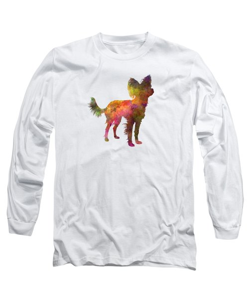 Russian Toy 02 In Watercolor Long Sleeve T-Shirt