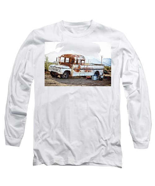 Rusted Abandoned Truck Long Sleeve T-Shirt