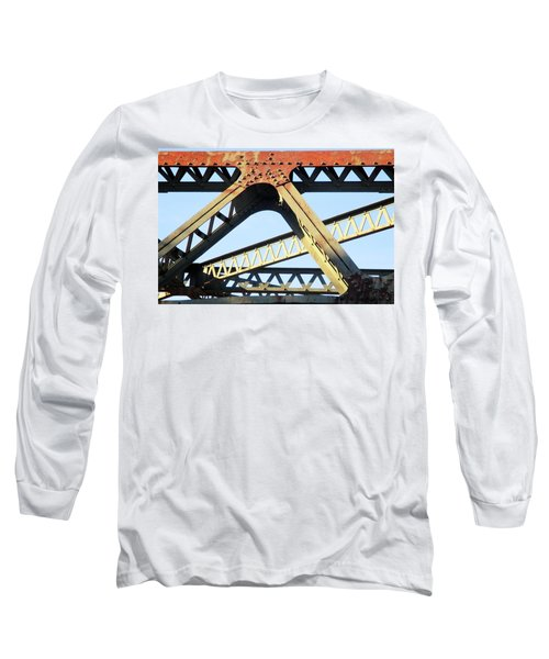 Rusted Long Sleeve T-Shirt by Martin Cline
