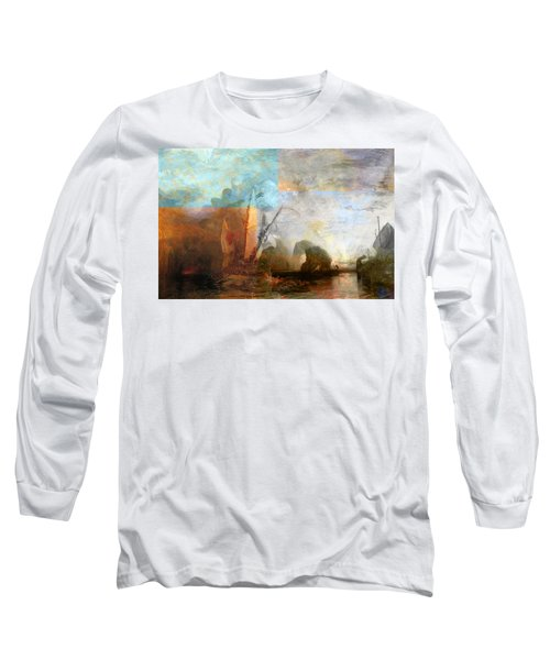 Rustic I Turner Long Sleeve T-Shirt by David Bridburg
