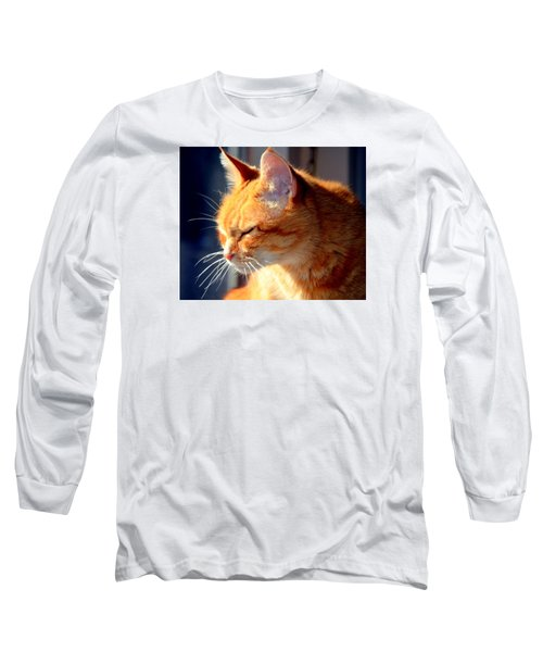 Long Sleeve T-Shirt featuring the photograph Rusty, Blind And Deaf Extraordinaire by Antonia Citrino