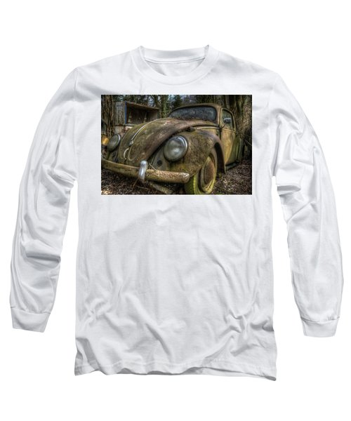 Rusty Vee Dub  Long Sleeve T-Shirt by Nathan Wright