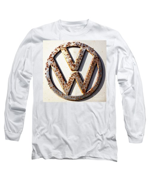 Vintage Vw Sign Long Sleeve T-Shirt