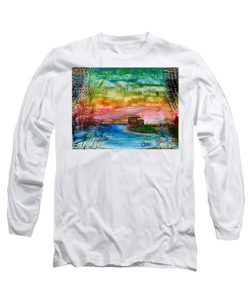 Rv Life Dinnertime Long Sleeve T-Shirt