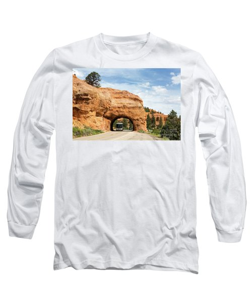 Rv Red Canyon Tunnel Utah Long Sleeve T-Shirt