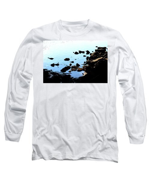 Rver Rocks Long Sleeve T-Shirt