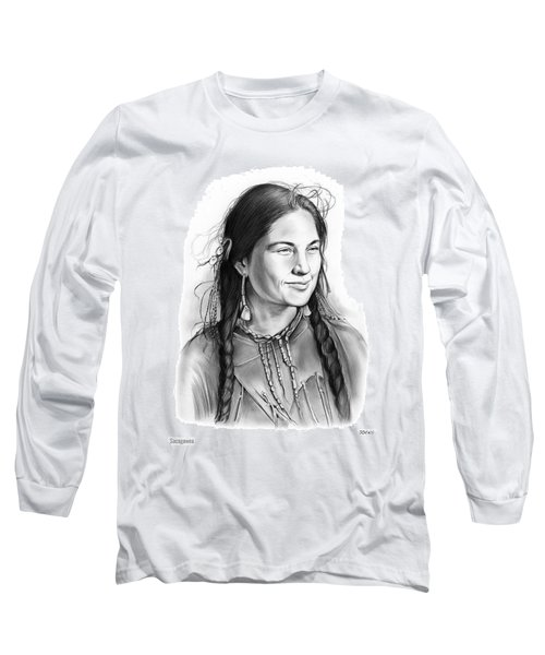 Sacagawea Long Sleeve T-Shirt