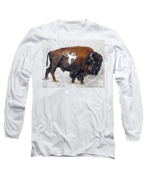 Sacred Gift Long Sleeve T-Shirt by J W Baker