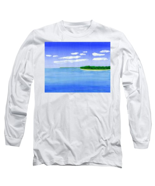 Sag Harbor, Long Island Long Sleeve T-Shirt by Dick Sauer