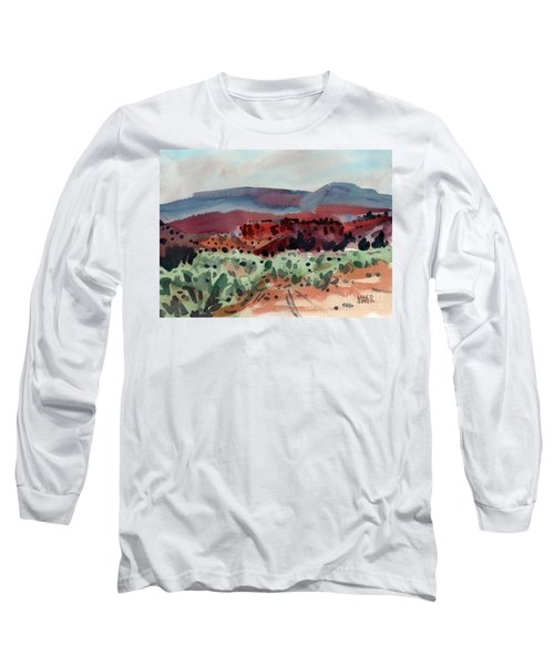 Sage Sand And Sierra Long Sleeve T-Shirt by Donald Maier