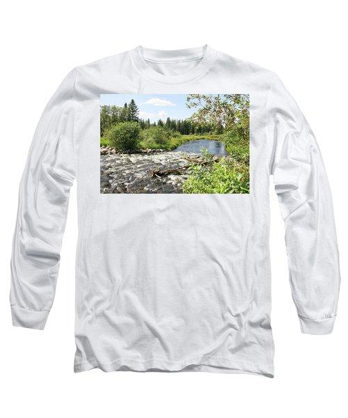 Saginas Lake Long Sleeve T-Shirt