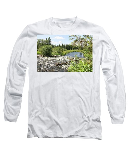 Saginas Lake Long Sleeve T-Shirt