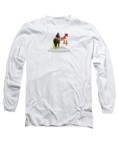Sagittarius Sun Sign Long Sleeve T-Shirt