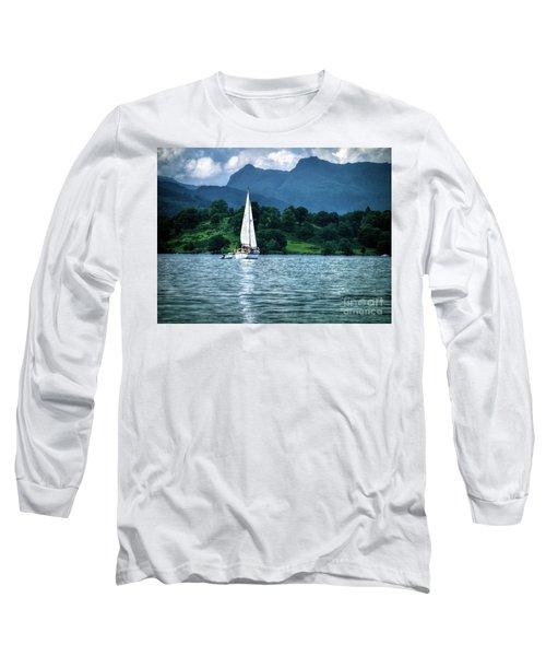 Sailing The Lakes Long Sleeve T-Shirt