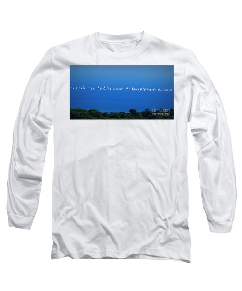Sailing The Sea And Sky Long Sleeve T-Shirt