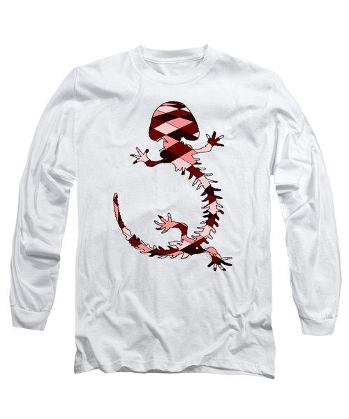 Salamander Skeleton Long Sleeve T-Shirt by Mordax Furittus