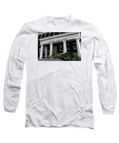 Long Sleeve T-Shirt featuring the photograph Salem College by Jessica Brawley