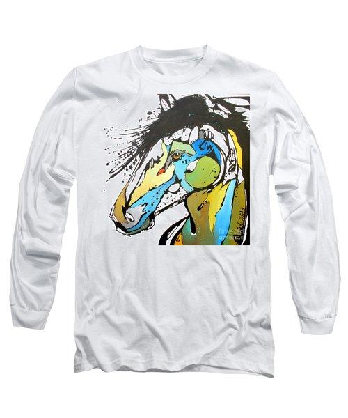 Sallie Long Sleeve T-Shirt by Nicole Gaitan