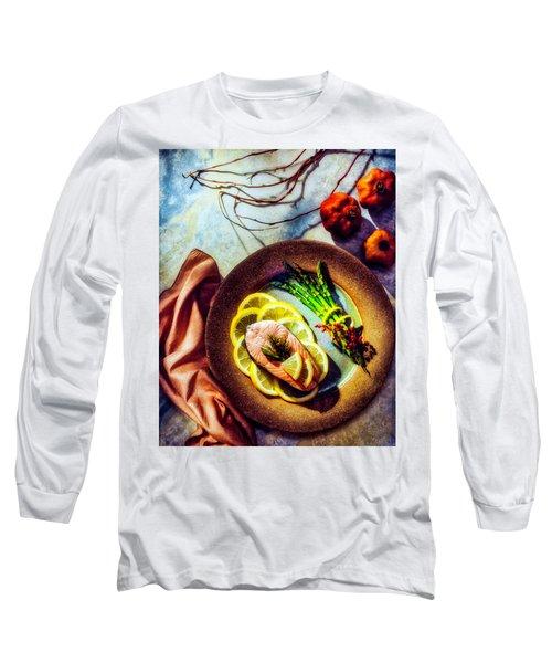 Salmon Dinner Long Sleeve T-Shirt