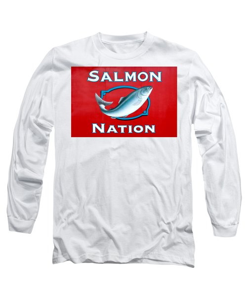 Salmon Nation Long Sleeve T-Shirt