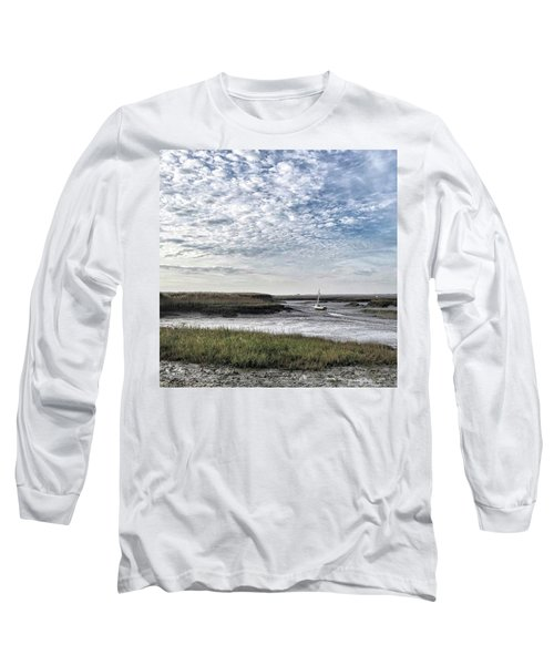Salt Marsh And Creek, Brancaster Long Sleeve T-Shirt
