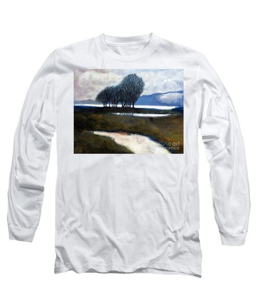 Salton Sea Trees Long Sleeve T-Shirt