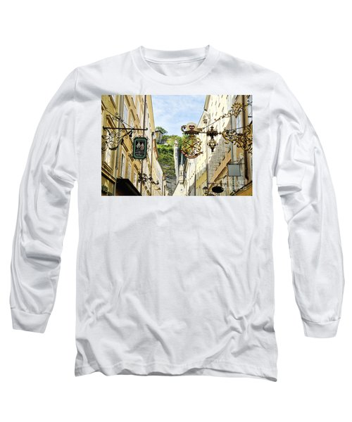 Salzburg Shopping Long Sleeve T-Shirt