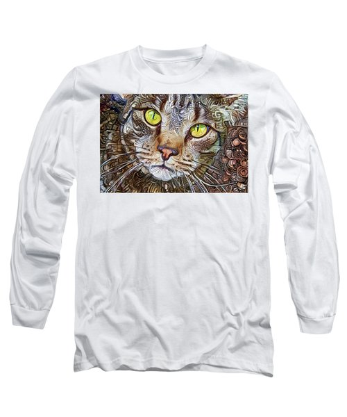 Sam The Tabby Cat Long Sleeve T-Shirt