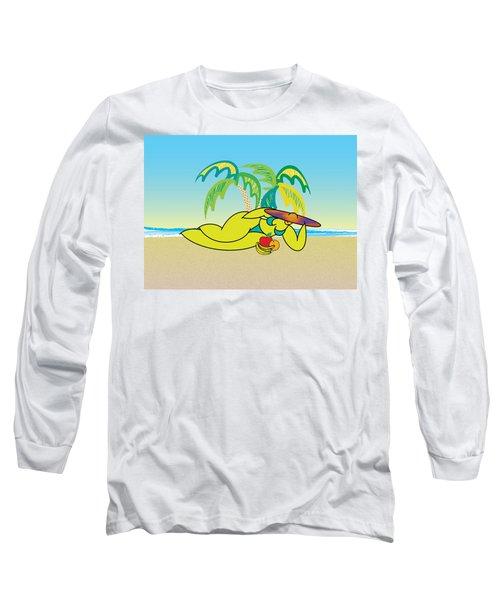 Samantha Long Sleeve T-Shirt by Steve Ellis