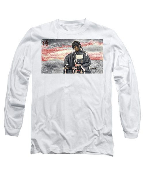 Samurai Warrior Long Sleeve T-Shirt