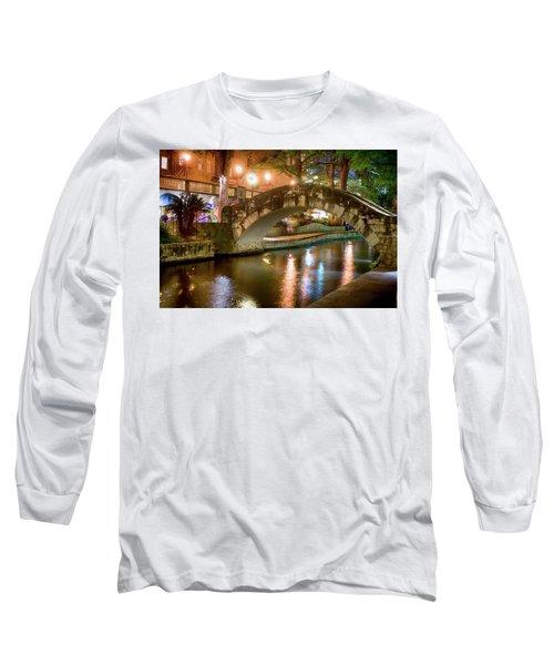 San Antonio River Walk V1 Long Sleeve T-Shirt