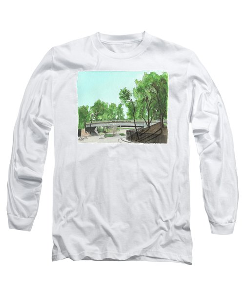 San Diego Recruit Depot Welcome Long Sleeve T-Shirt