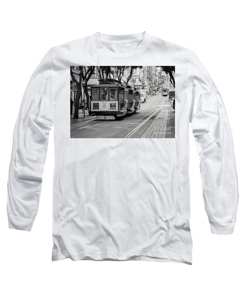 San Francisco Cable Cars Long Sleeve T-Shirt