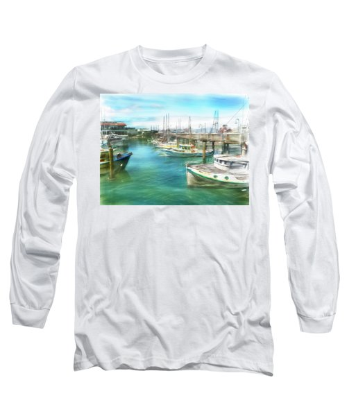 San Francisco Fishing Boats Long Sleeve T-Shirt