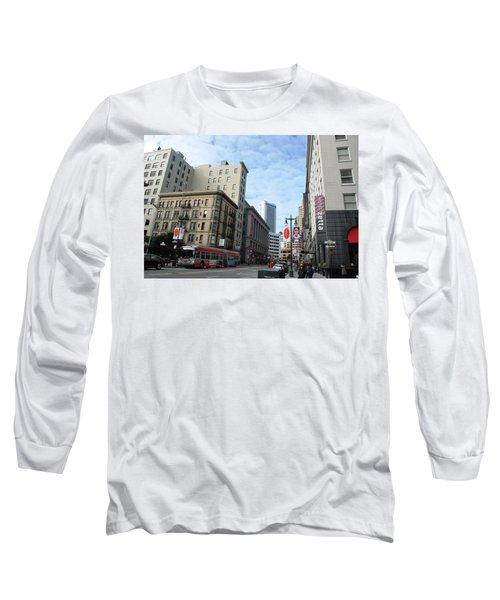 San Francisco - Jessie Street View Long Sleeve T-Shirt